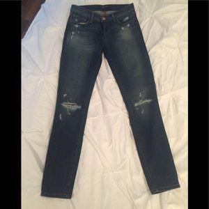 🆕 Jbrand Jeans low rise crop Affinity Destruct